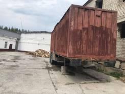 ГРПРКЗАП937001А, 1992. Полуприцеп фургон (контейнеровоз), 27 000кг.