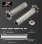 Ручка газа аллюминиевая ZETA Aluminum Throttle Tube Quick DRZ400, DR250