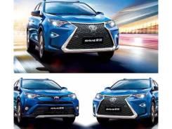 Обвес комплект в стиле Lexus для Toyota RAV4 2015г. +(Установка)