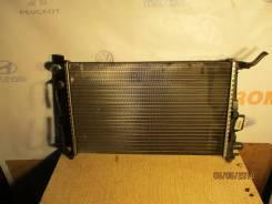 Радиатор охлаждения двигателя. Mercedes-Benz A-Class, W168, W168.006, W168.007, W168.008, W168.009, W168.031, W168.032, W168.033, W168.035