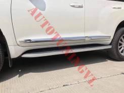 Накладки на Двери Toyota Land Cruiser Prado 150 08-18 год! Дизайн 2018