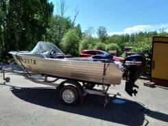 Продам моторную лодку Wellboat 46M