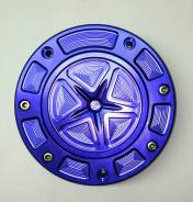 Крышка бензобака Тюнинг Синяя . Отправка. Скидка 10%