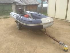 Комплект : Лодка ZongShen K-420 + мотор ZongShen T25 + прицеп
