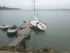 Яхта Конрад-25РТ. Длина 7,64м.