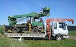 Услуги Эвакуатора, бортовой грузовик с краном манипулятолом