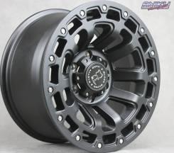 NEW! Комплект дисков Black Rhino Razorback R17 J9 ET12 6*139.7 (R396)