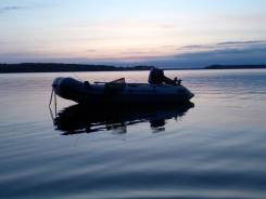 Продам лодку ПВХ с мотором 15 л. с.