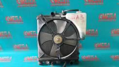 Радиатор охлаждения двигателя. Honda Logo, GA3, GA5 D13B, D13B7