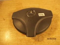 Подушка безопасности водителя. Mercedes-Benz A-Class, W168, W168.006, W168.007, W168.008, W168.009, W168.031, W168.032, W168.033, W168.035