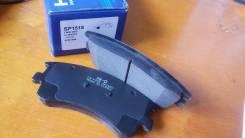 Колодки тормозные передние, Hi-Q Sangsin Brake