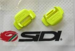 Фиксатор ремешка SIDI ярко желтый 2шт