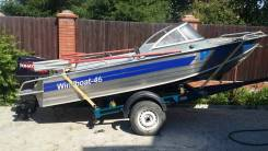 Моторная лодка Windboat 46