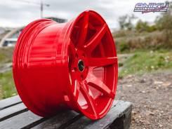 Эксклюзив! Комплект дисков Shogun V07 RED R18 9.5j ET15 5*114.3 (S017)