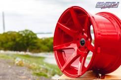 Эксклюзив! Комплект дисков Shogun V07 RED R18 10.5j ET8 5*114.3 (S018)
