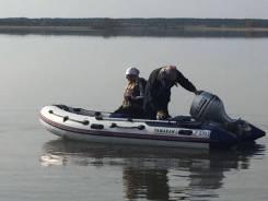 Продаю лодку yamaran F 370 и лодочный мотор sea pro 9.9