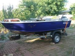 Лодка, мотор, прицеп, допы, всё 2015 года