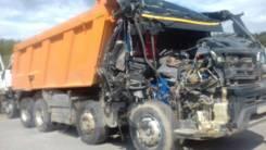Разбор Volvo FM-truck 8x4 по запчастям