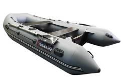 Хантер. 2018 год, длина 3,60м., двигатель подвесной, 25,00л.с., бензин. Под заказ