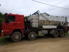 Мобильный бетонный завод MBP10-300 на автомобильном шасси