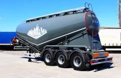 Bonum. Полуприцеп-цистерна для перевозки сыпучих грузов (цемента), 35 000кг.