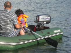 Продам лодку и мотор