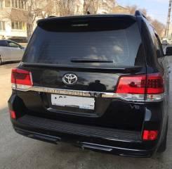 Спойлер Toyota Land Cruiser 200 2015-2020 Черный 218
