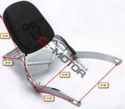 Спинка для пассажира с багажником Yamaha XV250 Virago