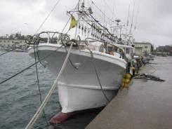 Шхуна кальмаролов Yanmar 60 футов
