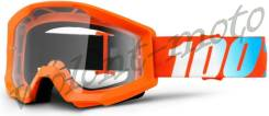 Очки 100% Strata Orange Оранжевый 50400-006-02