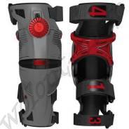 Наколенники шарнирные Mobius X8 M= 45.72-50.8см Серый с красным