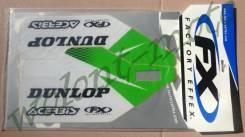 Наклейки на защиту вилки FX 14-40166 KX250F/450F 09-16