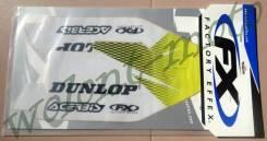 Наклейки на защиту вилки FX 14-40460 RM125/250 04-08/RMZ250 07-16/RMZ450 05-16