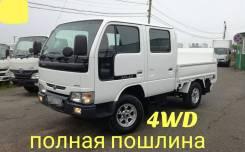 Nissan Atlas. 4WD, даухкабинник +аппарель, 3 200куб. см., 1 500кг., 4x4