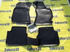 Коврики салона Subaru Forester (2012-2019) Правый РУЛЬ [Sakura38]
