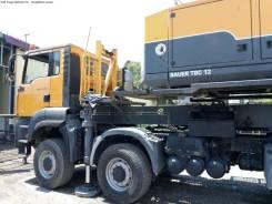 MAN TGA 41.480. Продам буровую Bauer TBG12 на базе , 12 419куб. см., 15 000кг.