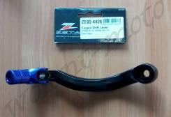 Лапка переключения передач Zeta ZE90-4426 Черно синий ZETA Forged Shift Lever Husky-FE