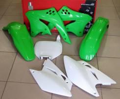 Комплект пластика R-Tech Kawasaki KX450F 06-08 зеленый/белый (R-KITKXF-OEM-506)