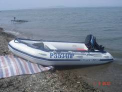 Лодка ПВХ Quicksilver 3,8 с мотором Mercury 25 л. с