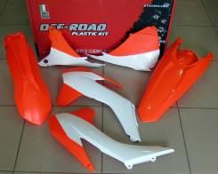 Комплект пластика R-Tech KTM EXC-EXCF 125-500 14-16 оранжевый неон R-KITKTM-AN0-415