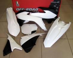 Комплект пластика R-Tech KTM SX/SXF 125-450 13-15 белый R-KITKTM-BN0-512