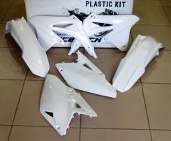 Комплект пластика R-Tech Suzuki RMZ450 08-17 белый R-KITRMZ-BN0-408