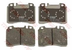 Колодки тормозные передние , TRW, GDB962