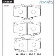 Колодки тормозные дисковые Advics SN292P