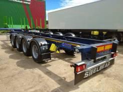 4-хосный контейнеровоз Steelbear PF-41L-2, 4-х осный, облегченный, 2019