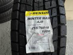 Dunlop Winter Maxx SJ8. зимние, без шипов, 2015 год, новый