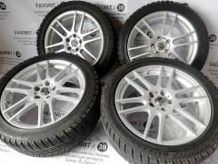 Модный комплект дисков Shneider на шинах Bridgestone 245/45R18