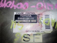 Блок управления ДВС. Toyota Nadia, SXN10, SXN10H 3SFE