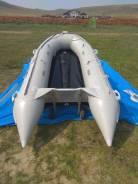 Лодка HDX 330 с аллюминиевым дном с мотором
