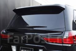 Спойлер под стекло задней двери на Lexus Lx450d / Lx 570,2016+, черный